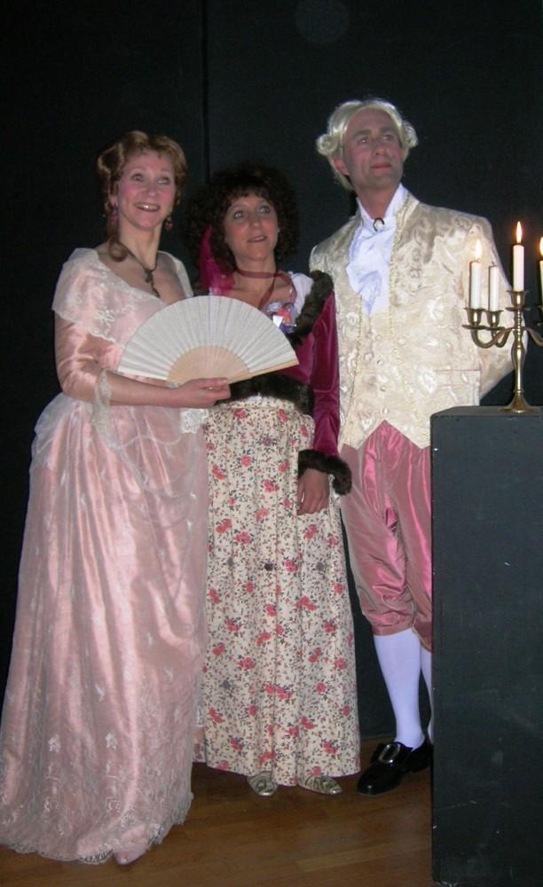 musique 18° siècle en costumes